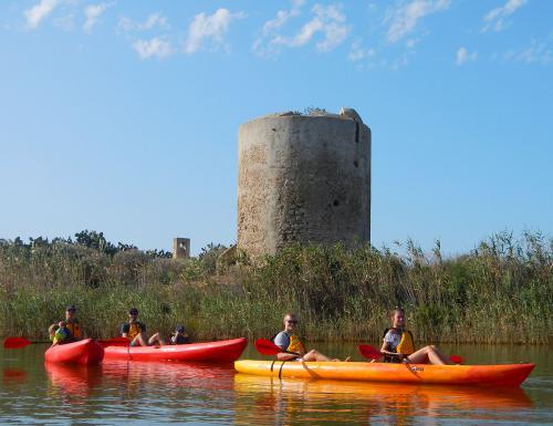 Kayak and spanish tower